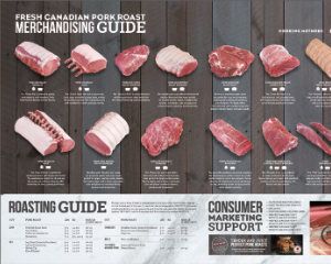 """CLIENT: CANADA PORK </h1><div class=""""subhead"""">Trade and consumer materials to promote pork roasts at retail.</div>"""