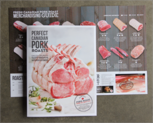 "CLIENT: CANADA PORK </h1><div class=""subhead"">Trade and consumer materials to promote pork roasts at retail.</div>"